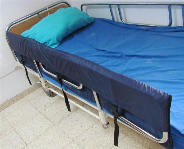מגן דופן מיטה כיס ברזל -nanicare