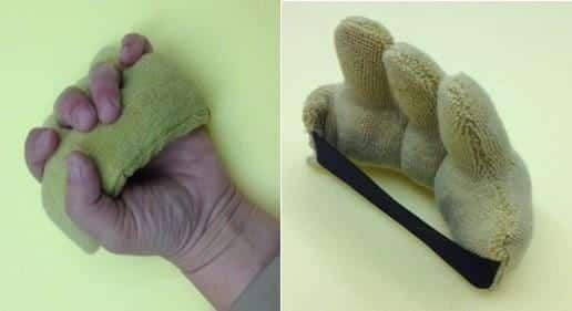 מפריד אצבעות כף יד - NaniCare