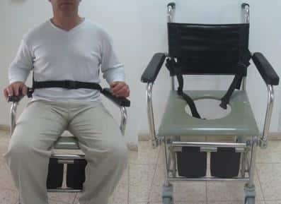 חגורות לכיסא גלגלים