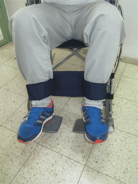 מגן שוקיים עם רצועות תומכות- NaniCare